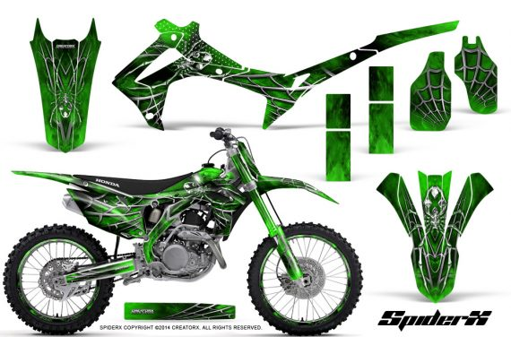 Honda CRF450R 2013 2014 Graphics Kit SpiderX Green NP Rims 570x376 - Honda CRF450R 2013-2015 Graphics