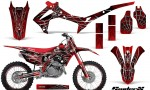 Honda CRF450R 2013 2014 Graphics Kit SpiderX Red NP Rims 150x90 - Honda CRF450R 2013-2015 Graphics