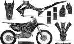 Honda CRF450R 2013 2014 Graphics Kit SpiderX Silver NP Rims 150x90 - Honda CRF450R 2013-2016 Graphics
