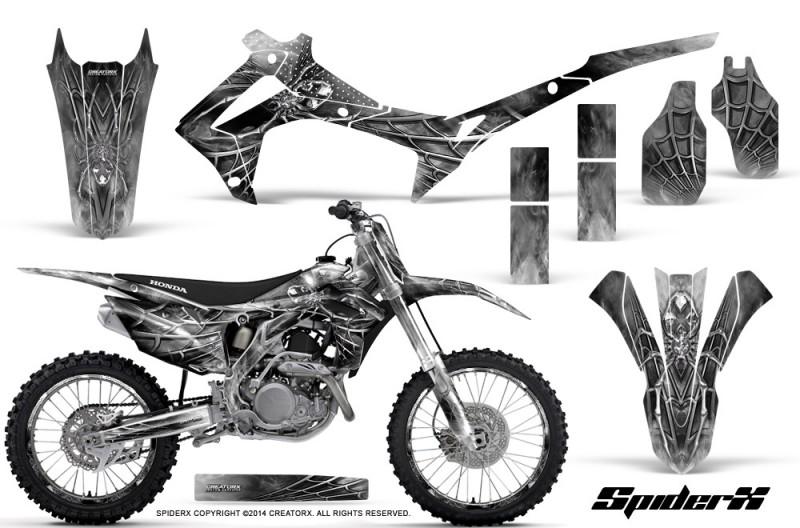 Honda-CRF450R-2013-2014-Graphics-Kit-SpiderX-White-NP-Rims