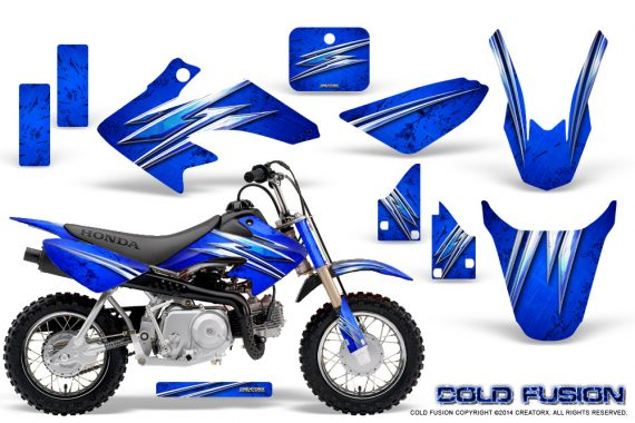 Honda CRF50 CreatorX Graphics Kit Cold Fusion Blue 570x380 - Honda CRF50 2004-2015 Graphics