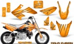 Honda CRF50 CreatorX Graphics Kit Cold Fusion Orange 150x90 - Honda CRF50 2004-2015 Graphics