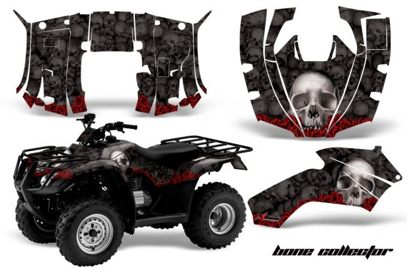 Honda Recon AMR Graphics Kit Decal Bones K 570x376 - Honda Recon ES Fourtrax 2005-2018 Graphics