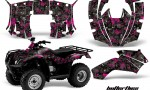 Honda Recon AMR Graphics Kit Decal Butterflies PK 150x90 - Honda Recon ES Fourtrax 2005-2020 Graphics