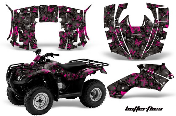 Honda Recon AMR Graphics Kit Decal Butterflies PK 570x376 - Honda Recon ES Fourtrax 2005-2020 Graphics