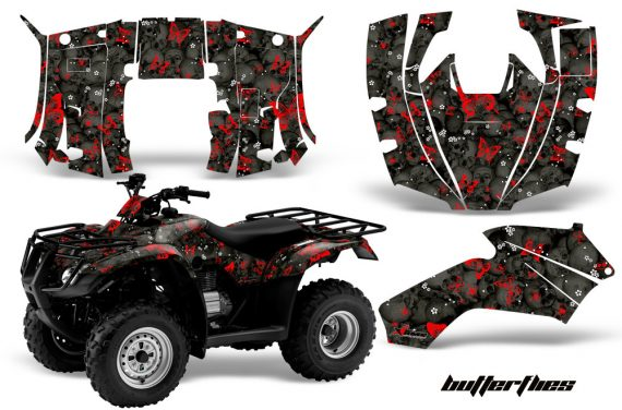 Honda Recon AMR Graphics Kit Decal Butterflies RK 570x376 - Honda Recon ES Fourtrax 2005-2018 Graphics