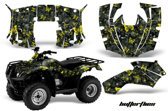 Honda Recon AMR Graphics Kit Decal Butterflies YK 570x376 - Honda Recon ES Fourtrax 2005-2018 Graphics