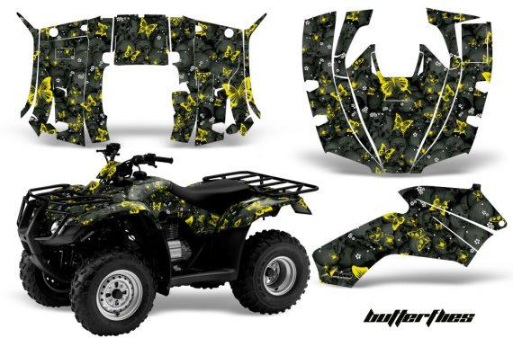 Honda Recon AMR Graphics Kit Decal Butterflies YK 570x376 - Honda Recon ES Fourtrax 2005-2020 Graphics