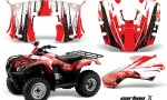 Honda Recon AMR Graphics Kit Decal CarbonX R 150x90 - Honda Recon ES Fourtrax 2005-2020 Graphics