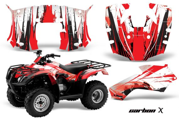 Honda Recon AMR Graphics Kit Decal CarbonX R 570x376 - Honda Recon ES Fourtrax 2005-2018 Graphics