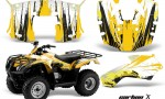 Honda Recon AMR Graphics Kit Decal CarbonX Y 150x90 - Honda Recon ES Fourtrax 2005-2020 Graphics