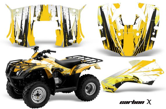 Honda Recon AMR Graphics Kit Decal CarbonX Y 570x376 - Honda Recon ES Fourtrax 2005-2018 Graphics