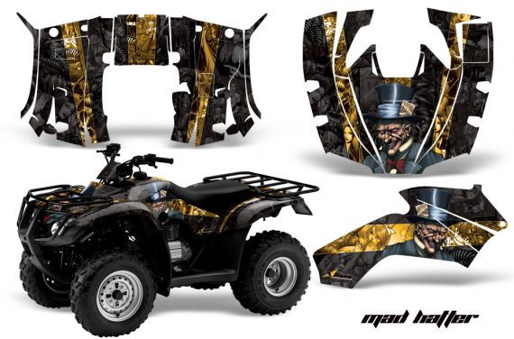 Honda Recon AMR Graphics Kit Decal Mad Hatter YK 570x376 - Honda Recon ES Fourtrax 2005-2018 Graphics