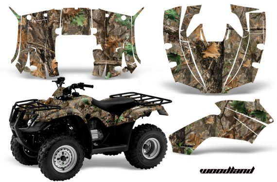 Honda Recon AMR Graphics Kit Decal Woodland Camo 570x376 - Honda Recon ES Fourtrax 2005-2018 Graphics