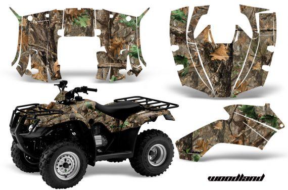 Honda Recon AMR Graphics Kit Decal Woodland Camo 570x376 - Honda Recon ES Fourtrax 2005-2020 Graphics