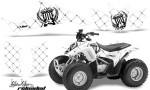Honda TRX 90 AMR Graphics Kit SSR BW 150x90 - Honda TRX 90 2006-2020 Graphics