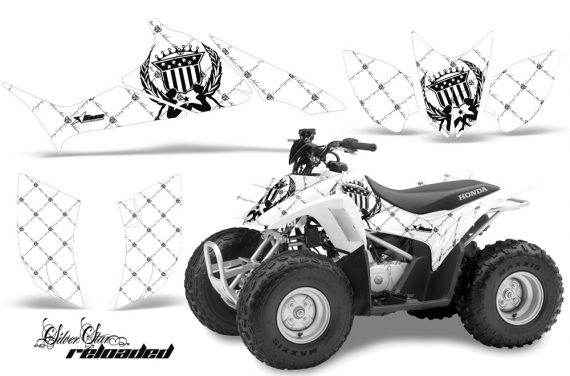 Honda TRX 90 AMR Graphics Kit SSR BW 570x376 - Honda TRX 90 2006-2020 Graphics
