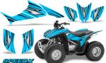 Honda TRX 90 Graphics Kit SpeedX BlueIce 150x90 - Honda TRX 90 2006-2020 Graphics