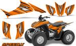 Honda TRX 90 Graphics Kit SpeedX Orange 150x90 - Honda TRX 90 2006-2020 Graphics