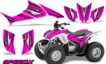 Honda TRX 90 Graphics Kit SpeedX Pink 150x90 - Honda TRX 90 2006-2020 Graphics