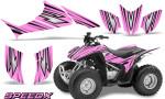 Honda TRX 90 Graphics Kit SpeedX PinkLite 150x90 - Honda TRX 90 2006-2020 Graphics