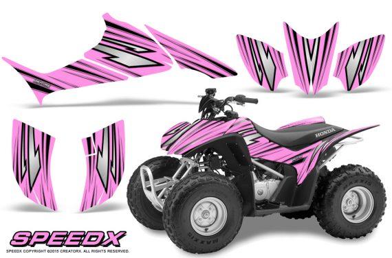 Honda TRX 90 Graphics Kit SpeedX PinkLite 570x376 - Honda TRX 90 2006-2020 Graphics