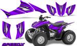 Honda TRX 90 Graphics Kit SpeedX Purple 150x90 - Honda TRX 90 2006-2020 Graphics
