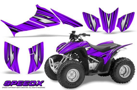 Honda TRX 90 Graphics Kit SpeedX Purple 570x376 - Honda TRX 90 2006-2020 Graphics