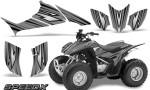 Honda TRX 90 Graphics Kit SpeedX Silver 150x90 - Honda TRX 90 2006-2020 Graphics