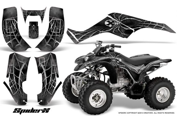 Honda TRX250 02 05 CreatorX Graphics Kit SpiderX Silver 570x376 - Honda TRX 250EX 2002-2005 Graphics