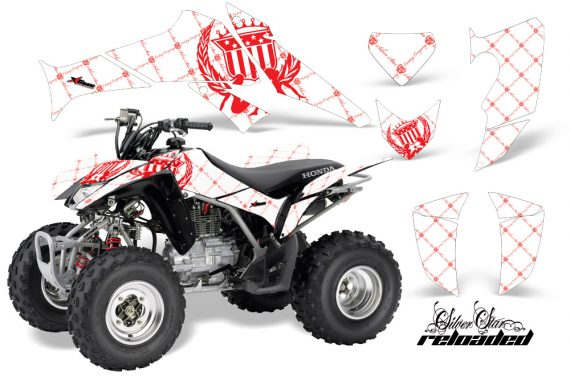 Honda TRX250 06 09 AMR Graphics Reloaded Red WhiteBG JPG 570x376 - Honda TRX 250EX 2006-2018 Graphics