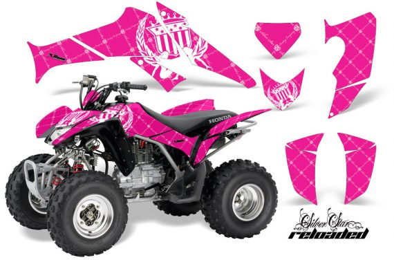 Honda TRX250 06 09 AMR Graphics Reloaded WHITE PINKBG JPG 570x376 - Honda TRX 250EX 2006-2018 Graphics