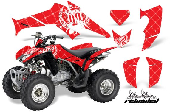 Honda TRX250 06 09 AMR Graphics Reloaded WHITE REDBG JPG 570x376 - Honda TRX 250EX 2006-2018 Graphics