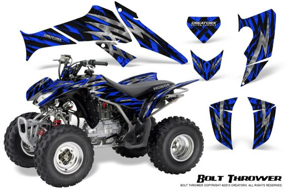 Honda TRX250 06 09 CreatorX Graphics Kit Bolt Thrower Blue 570x376 - Honda TRX 250EX 2006-2018 Graphics