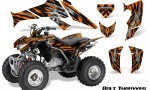 Honda TRX250 06 09 CreatorX Graphics Kit Bolt Thrower Orange 150x90 - Honda TRX 250EX 2006-2018 Graphics