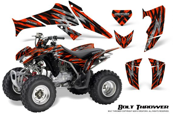 Honda TRX250 06 09 CreatorX Graphics Kit Bolt Thrower Red 570x376 - Honda TRX 250EX 2006-2018 Graphics