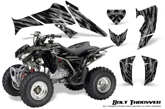 Honda TRX250 06 09 CreatorX Graphics Kit Bolt Thrower Silver 570x376 - Honda TRX 250EX 2006-2018 Graphics