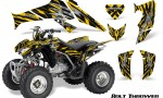 Honda TRX250 06 09 CreatorX Graphics Kit Bolt Thrower Yellow 150x90 - Honda TRX 250EX 2006-2018 Graphics