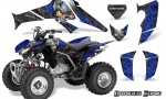Honda TRX250 06 09 CreatorX Graphics Kit Danger Zone BLB 150x90 - Honda TRX 250EX 2006-2018 Graphics