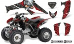 Honda TRX250 06 09 CreatorX Graphics Kit Danger Zone RB 150x90 - Honda TRX 250EX 2006-2018 Graphics