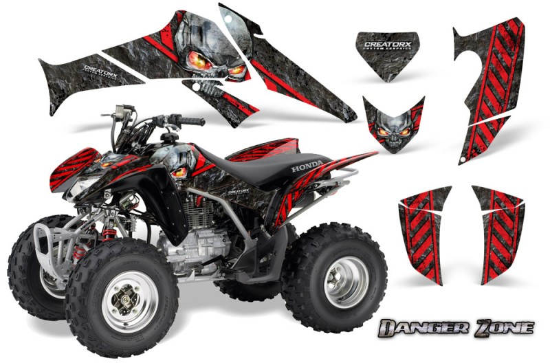 Honda-TRX250-06-09-CreatorX-Graphics-Kit-Danger-Zone-RB