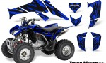 Honda TRX250 06 09 CreatorX Graphics Kit Tribal Madness Blue 150x90 - Honda TRX 250EX 2006-2018 Graphics