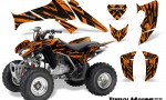 Honda TRX250 06 09 CreatorX Graphics Kit Tribal Madness Orange 150x90 - Honda TRX 250EX 2006-2018 Graphics