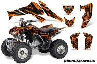 Honda-TRX250-06-09-CreatorX-Graphics-Kit-Tribal-Madness-Orange