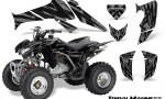 Honda TRX250 06 09 CreatorX Graphics Kit Tribal Madness Silver 150x90 - Honda TRX 250EX 2006-2018 Graphics