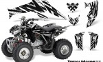 Honda TRX250 06 09 CreatorX Graphics Kit Tribal Madness White 150x90 - Honda TRX 250EX 2006-2018 Graphics