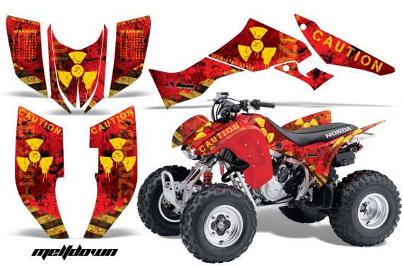 Honda TRX300 07 12 AMR Graphics Kit Meltdown YR 570x376 - Honda TRX 300EX 2007-2013 Graphics