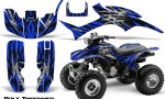 Honda TRX300 1993 2006 CreatorX Graphics Kit Bolt Thrower Blue 150x90 - Honda TRX 300EX 1993-2006 Graphics