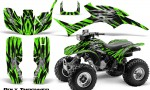 Honda TRX300 1993 2006 CreatorX Graphics Kit Bolt Thrower Green 150x90 - Honda TRX 300EX 1993-2006 Graphics