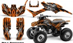 Honda TRX300 1993 2006 CreatorX Graphics Kit Bolt Thrower Orange 150x90 - Honda TRX 300EX 1993-2006 Graphics